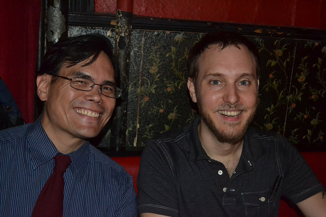 Photos from May 17th, with E.C. Myers and Sam Miller