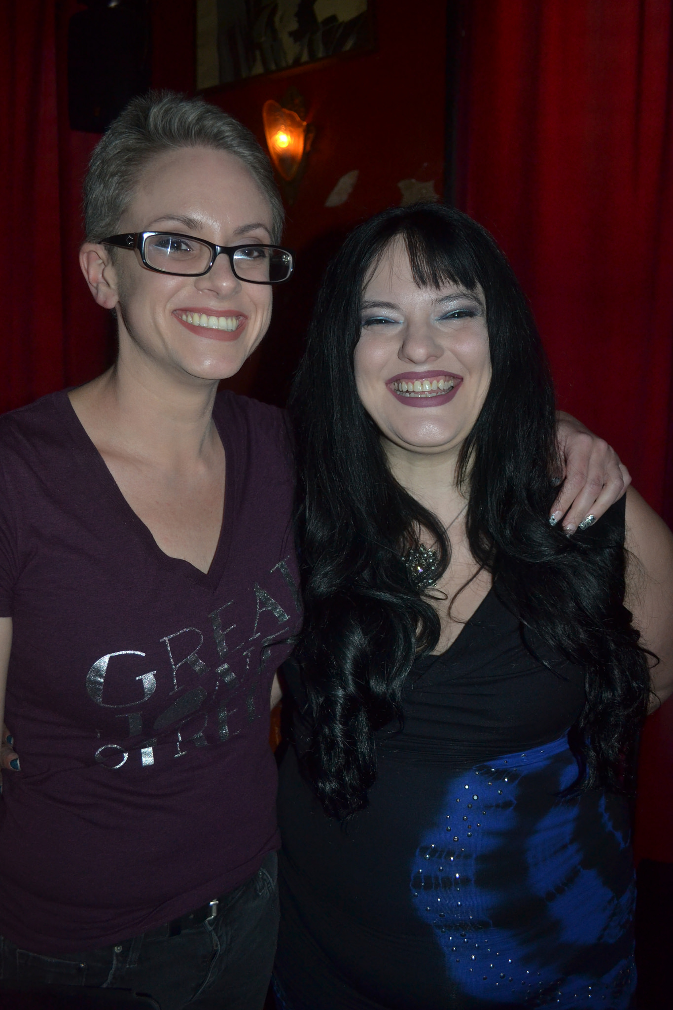 Photos from June 21 with Catherynne M. Valente and Sunny Moraine