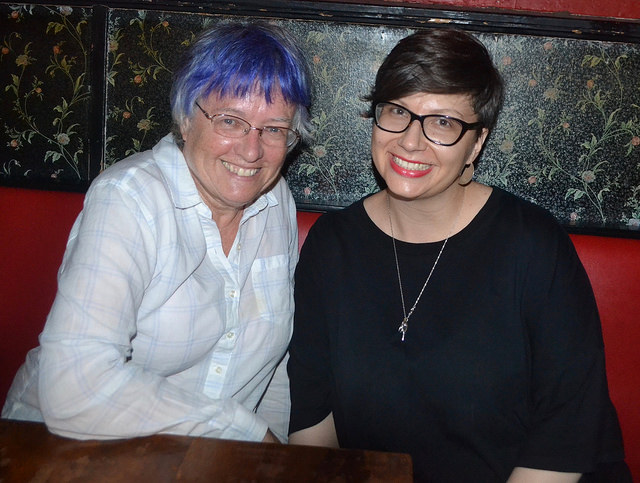 Photos from July 19, with Karen Heuler & Genevieve Valentine