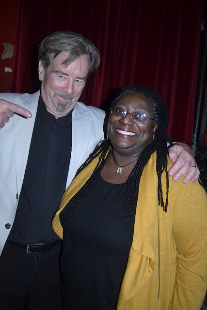 Photos from October 18th with James Patrick Kelly & Jennifer Marie Brissett