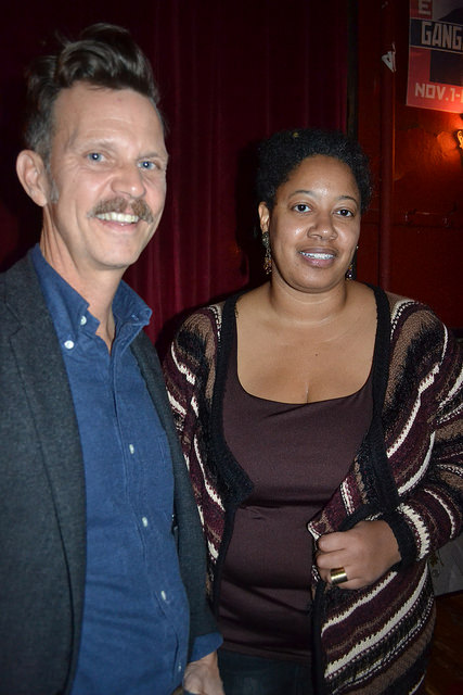 Photos from December 20th with N.K. Jemisin & Christopher Brown