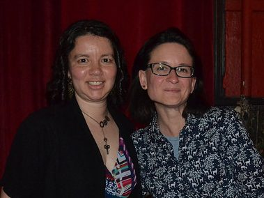 Photos from May 16th with Tina Connolly & Caroline M. Yoachim