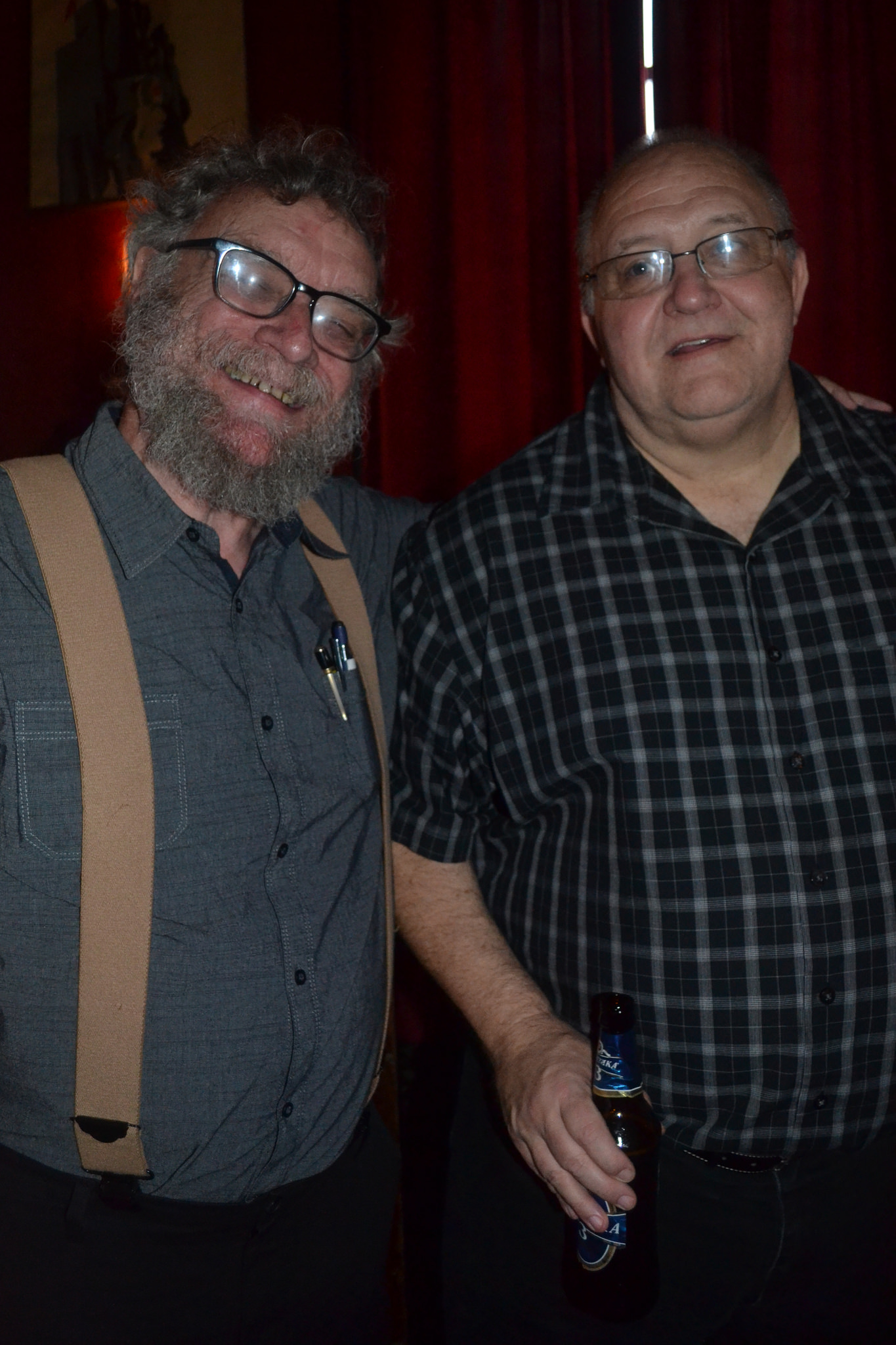 Photos from Aug 15th with Michael Swanwick & Jeffrey Ford