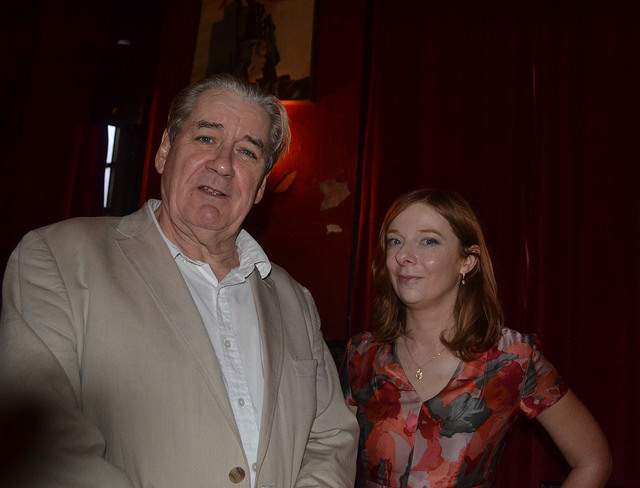 Photos from Sept 19th, with Patrick McGrath & Siobhan Carroll