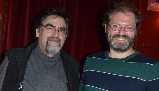 Photos from Oct 17th, with Tim Pratt & Lawrence M. Schoen