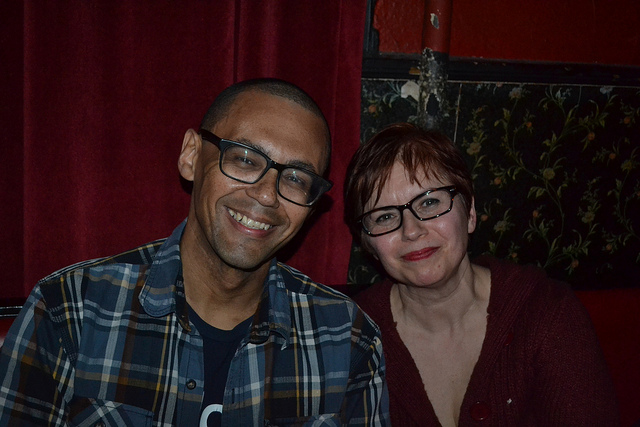 Photos from Jan 16th, with Victor LaValle & Julie C. Day