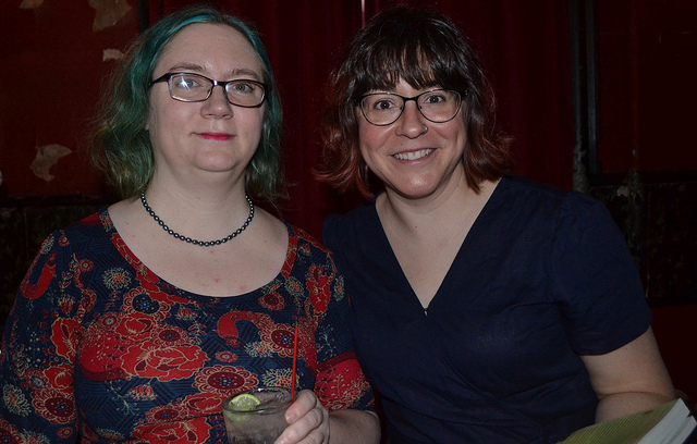 Photos from March 20, with Molly Tanzer & Carrie Laben