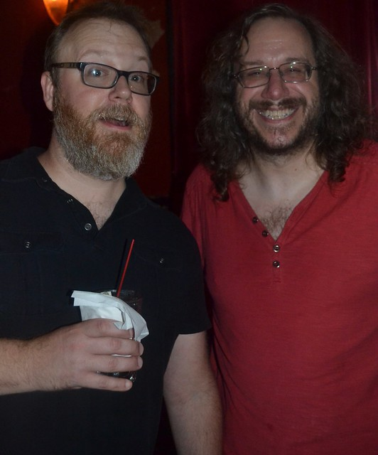 Photos from June 19th, with Chuck Wendig & Keith R.A. DeCandido