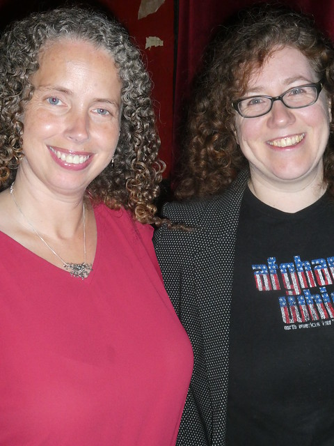 Photos from Sept 21, with Sarah Beth Durst and Sarah Pinsker