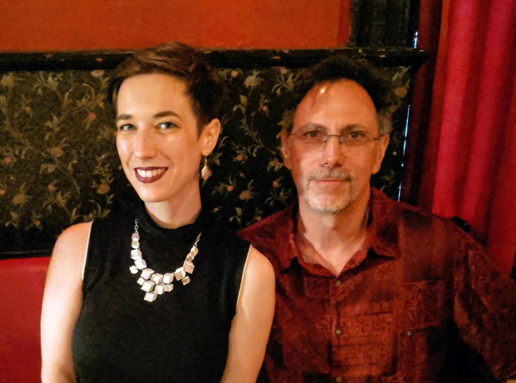 Photos from Aug 21st, with Paul Witcover & Lara Elena Donnelly
