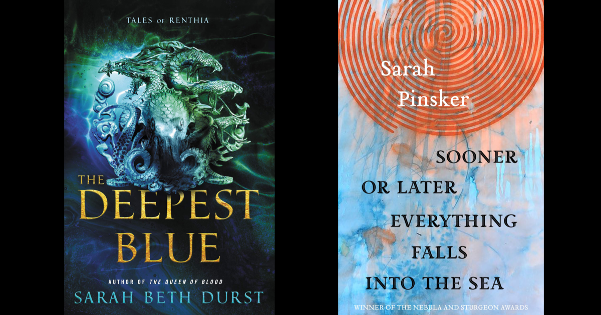 Audio from Sept 18th, with Sarah Beth Durst & Sarah Pinsker