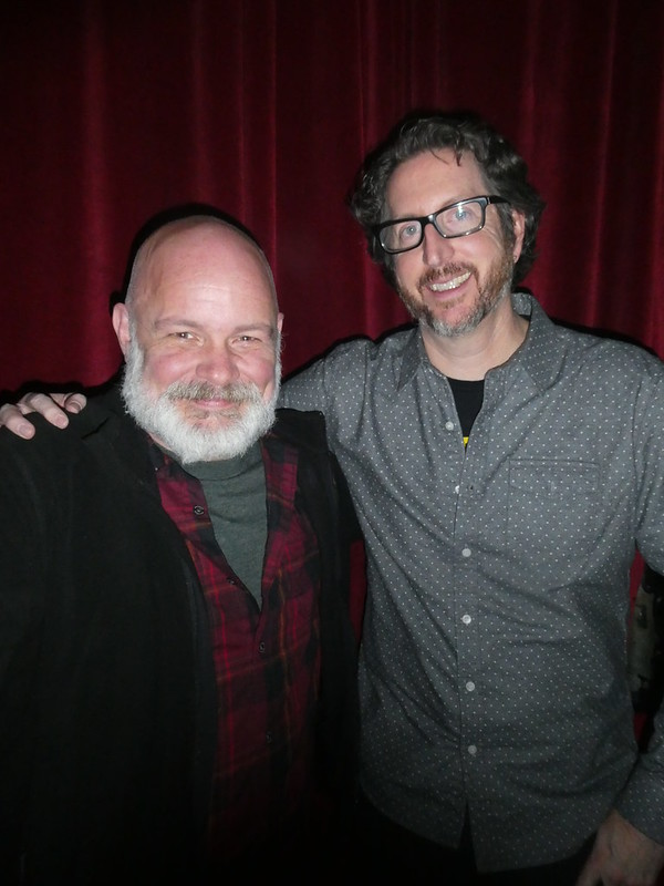 Photos from Dec 18th, with Paul Tremblay & Nathan Ballingrud